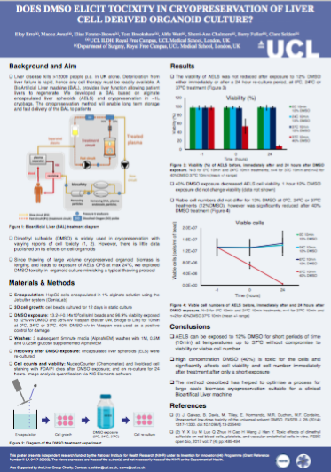 UCL poster for SLTB meeting 2019