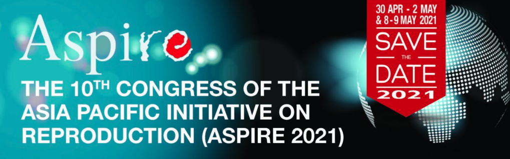 Aspire 2021 - 10th Congress of Asia Pacific Initiative on Reproduction