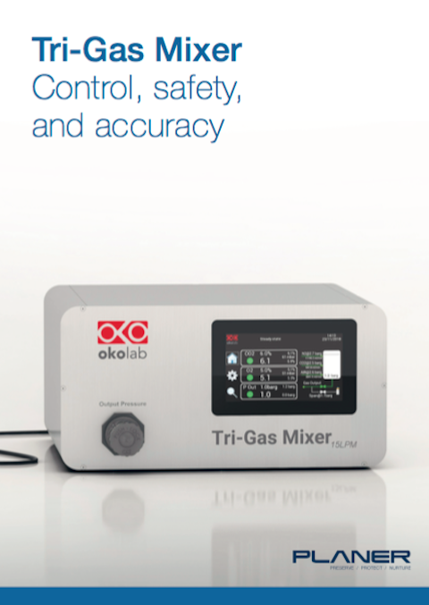 Tri-Gas Mixer controller, suitable for all benchtop incubators